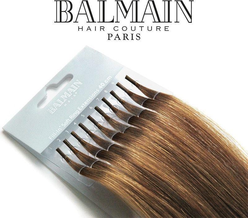 Balmain Clip On Hair Extensions Autum Gold 15 Cm Clip In Hair