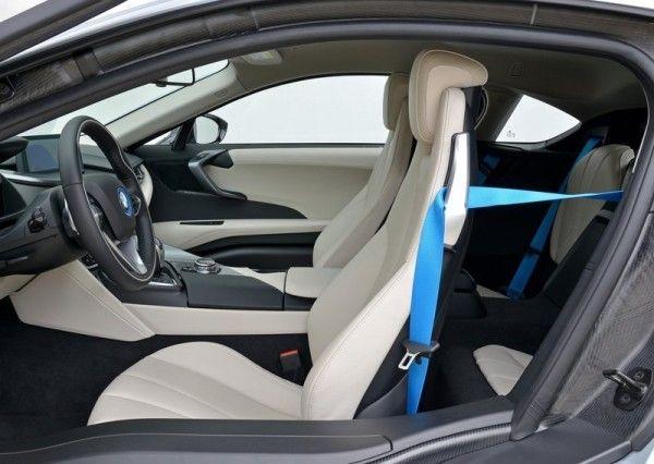 2015 Bmw I8 Silver Seat Interior View 600x426 2015 Bmw I8