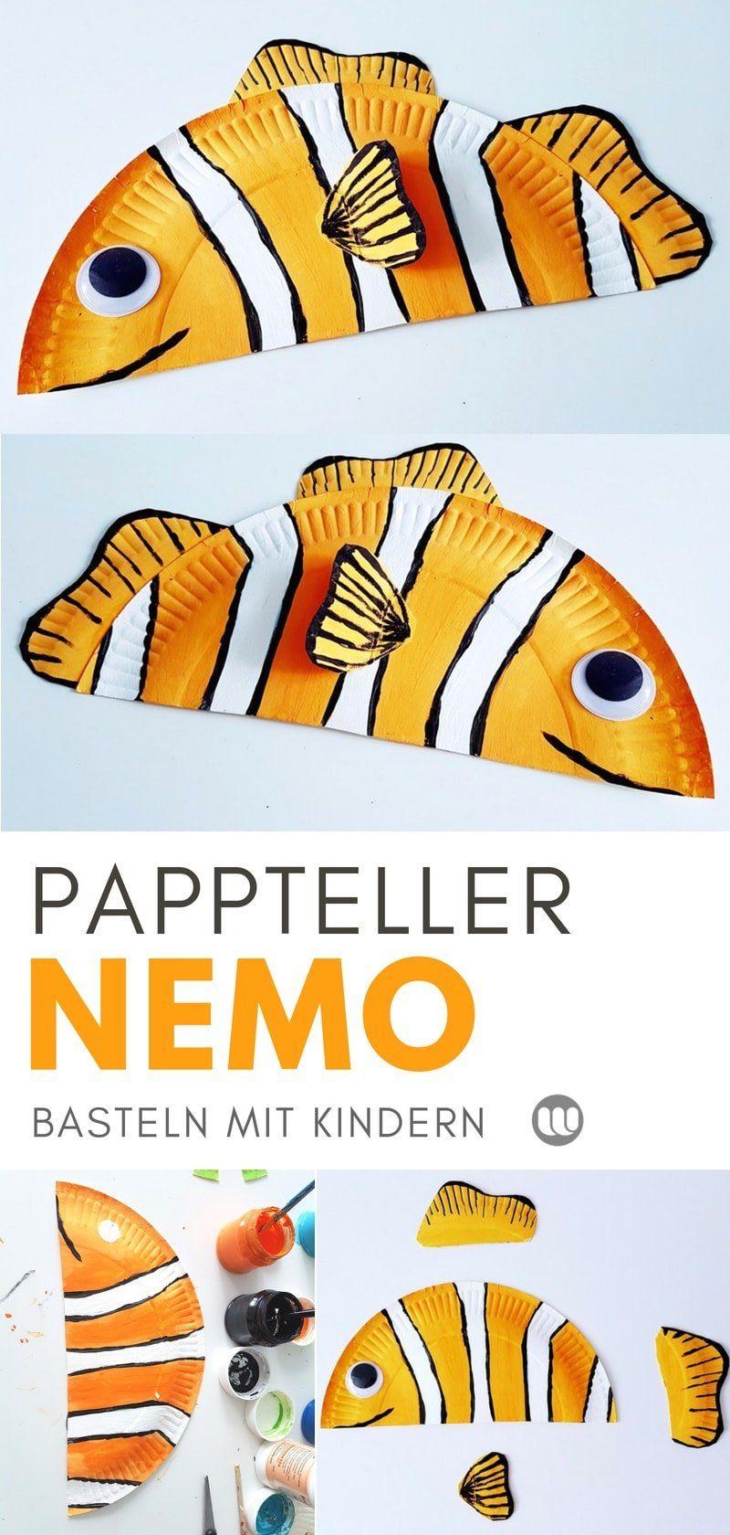 Photo of Unterwasserwelt basteln: Pappteller Fische & Meerestiere
