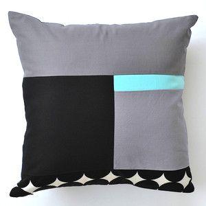 Ninja Monkey Pillow 16x16 by JaffWorks