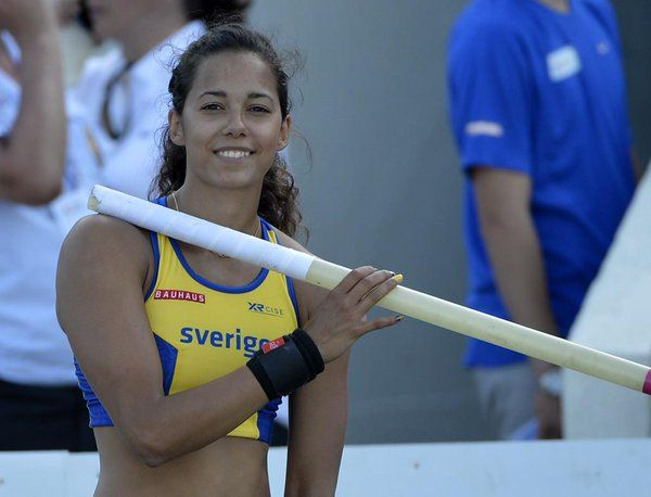 Angelica Bengtsson Angelicab Pv Pole Vault Athlete Muscle Women