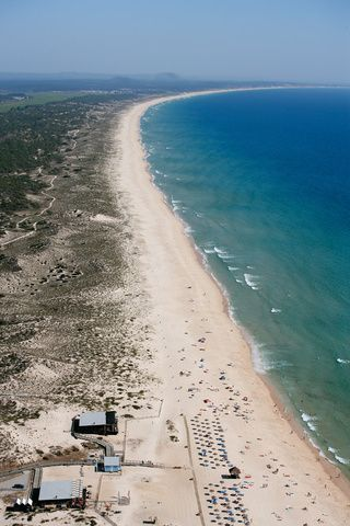 Comporta beach, Alentejo, Portugal  This is one of my favorite beaches in the world.  The picture doesn't do it justice.