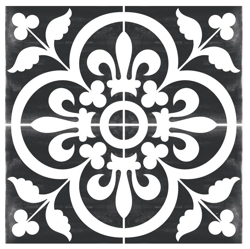 vinyl floor tile sticker floor decals carreaux ciment. Black Bedroom Furniture Sets. Home Design Ideas
