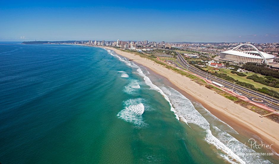 Durban Country Club Beach. Photo by Grant Pitcher.