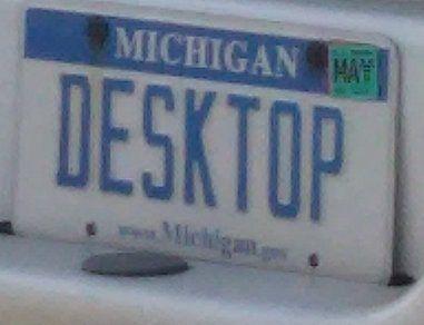 Desktop on a pickup!