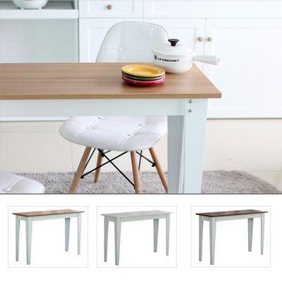 데이지 내츄럴/화이트/티크 테이블/다용도테이블