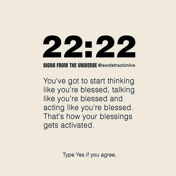 Law of Attraction Number Meaning