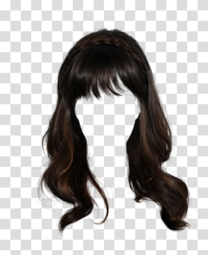 Black Wig Wig Hairstyle Long Hair Hair Transparent Background Png Clipart Long Hair Styles Wig Hairstyles Hair Styles