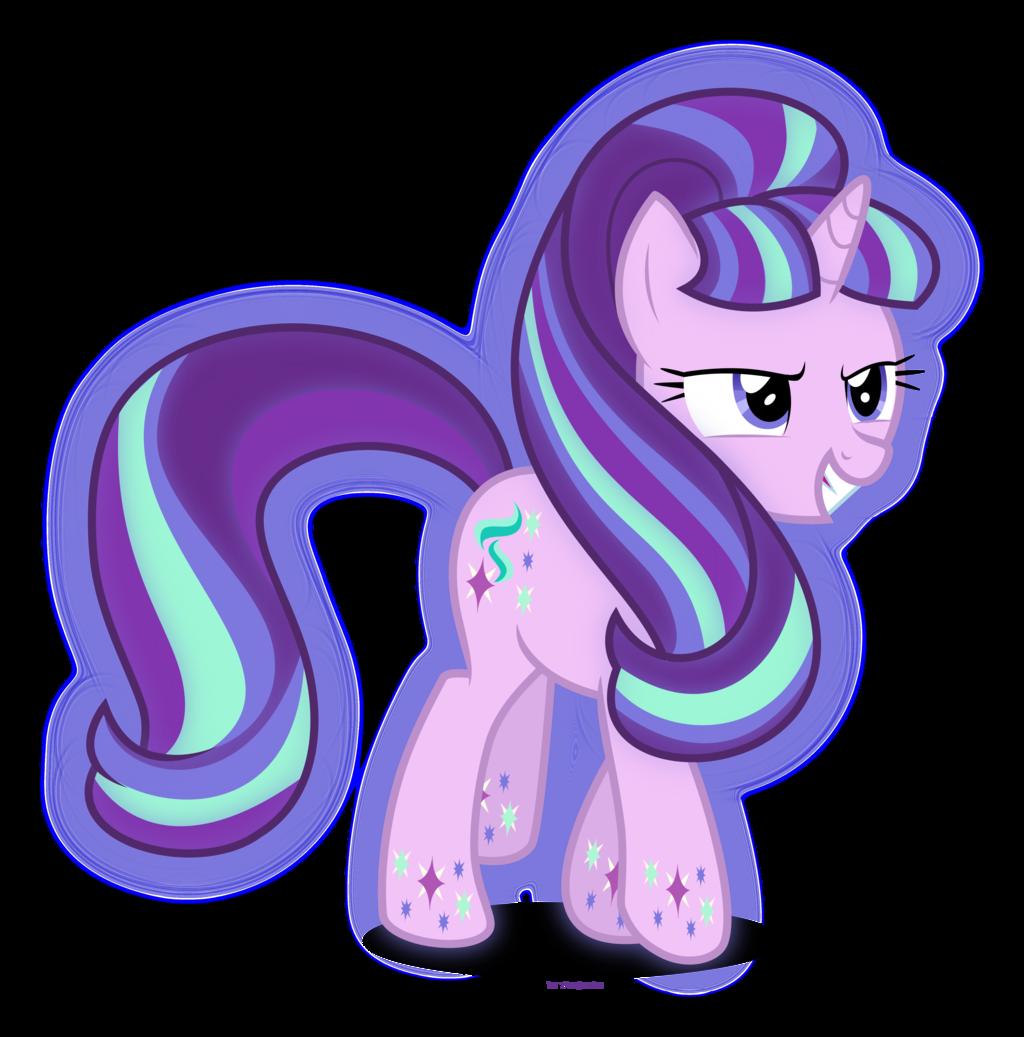 Rainbow Power Starlight Glimmer Gadis Animasi Animasi