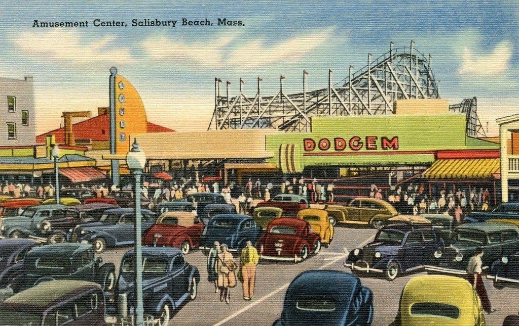 Salisbury Beach Massachusetts Roller Coasters Pinterest