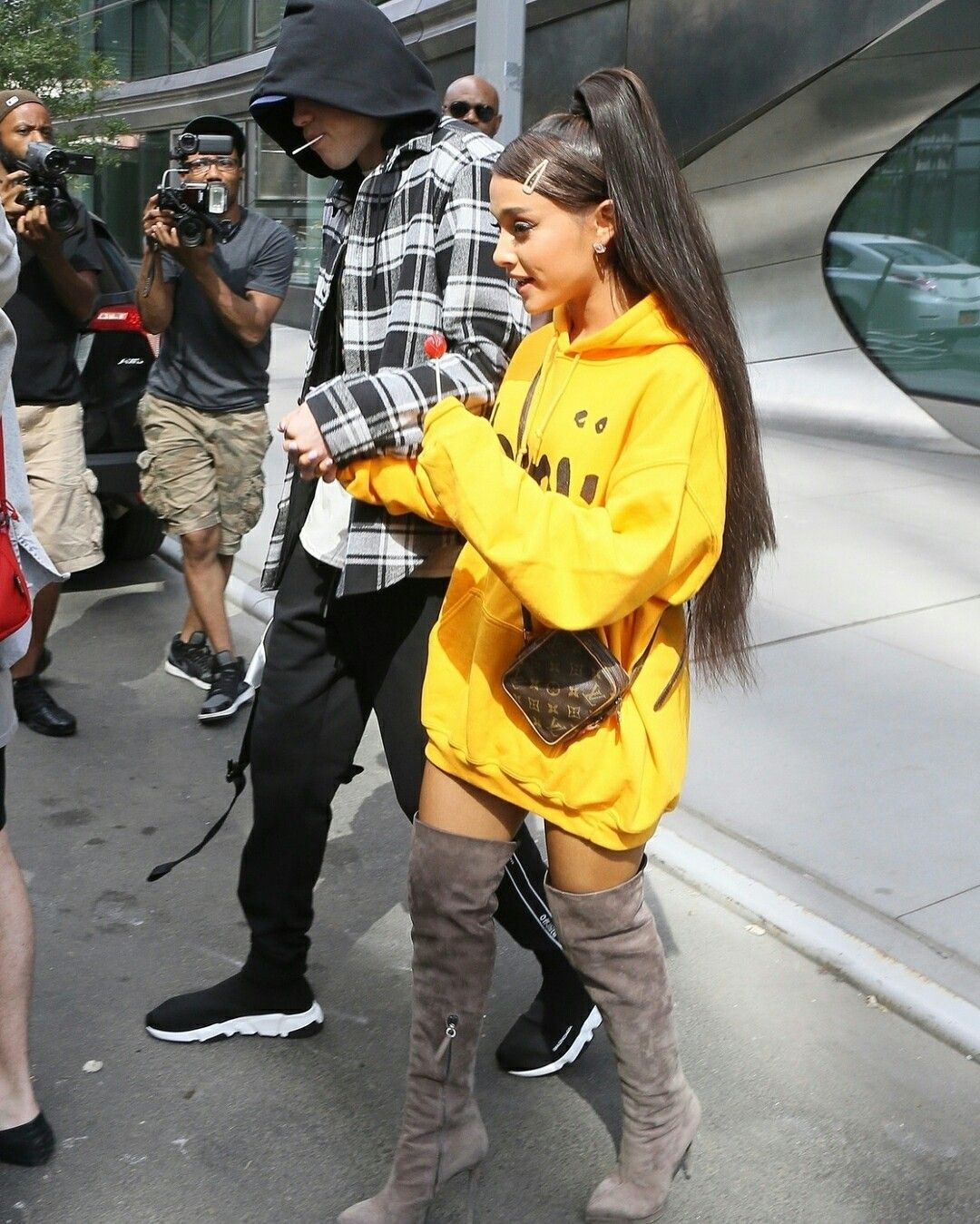 Ariana Grande's Favorite Over the Knee Boots Are 50% off