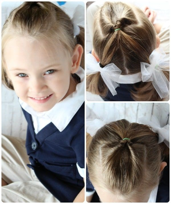 Easy Little Girl Hairstyles Impressive 10 Easy Hairstyles For Girls  Easy Hairstyles Girls And Girl