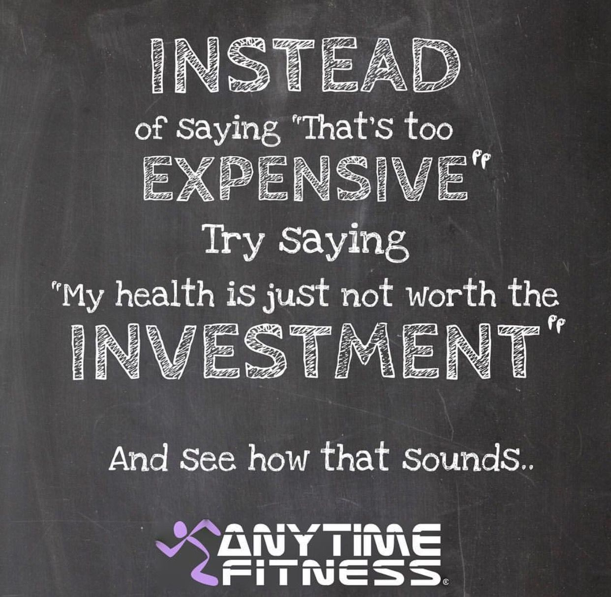 Chalk wall at anytime fitness signs and fonts pinterest anytime fitness health and fitness health fitness magicingreecefo Choice Image