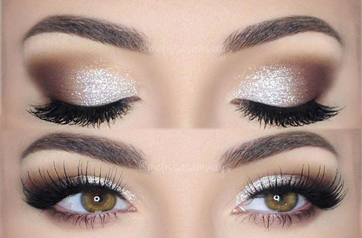 Die funkelnde Magie von DIY Glitter Eye Makeup #die #DIY #eye #funkelnde #Glitter #Magie #Mak