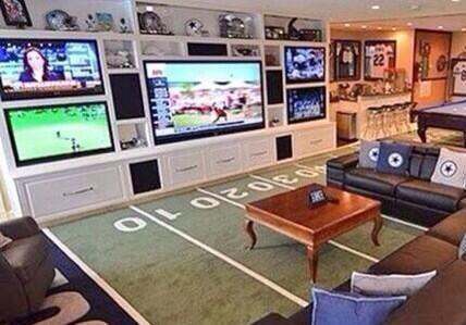 Man Cave Ideas With Pictures The Ultimate Guide Sports