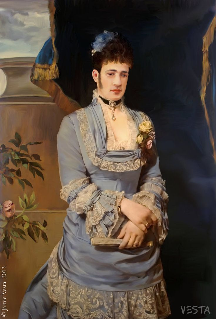 th century couple by eves rib com on man in a blue dress 1874 by eves rib com on