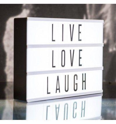 Pin En Light Box Quotes