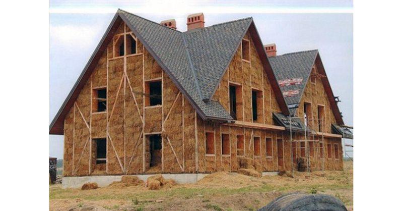 Balas de paja, arquitectura sostenible Arquitectura construcción - construire une maison ecologique