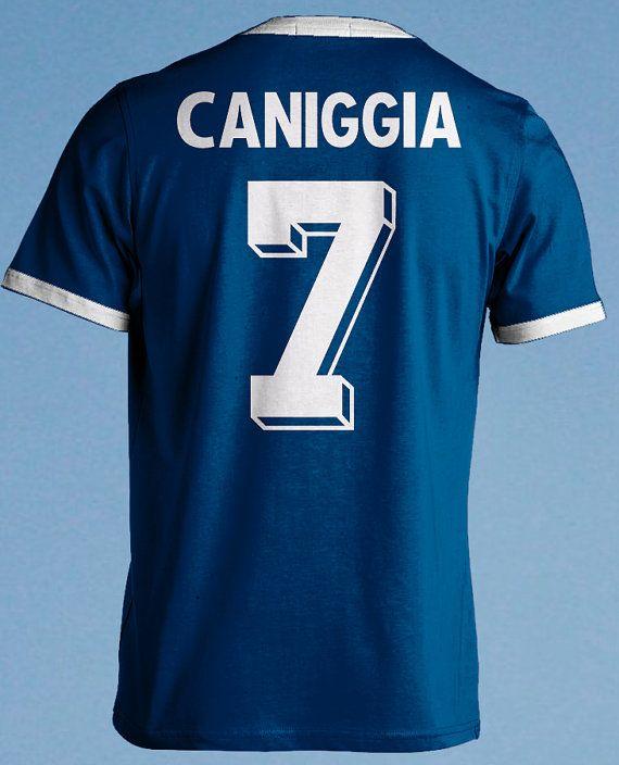 fb751243c Claudio Caniggia 7 Retro Argentina Argentinien by FootballRe ...