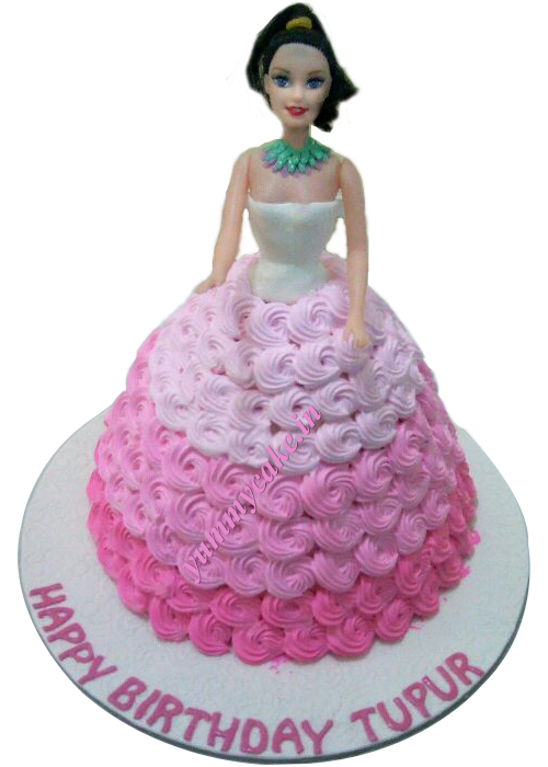 Barbie cake will make your party memorable and bring a wide smile on