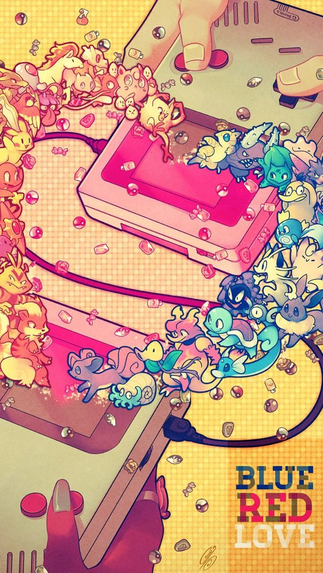 Pokemon Red And Blue Pokemon Iphone Wallpapers Mobile9 Iphone 8