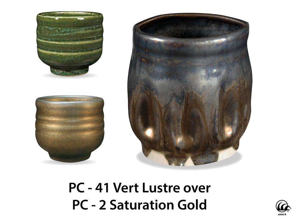Pc 41 Vert Lustre Ceramic Glaze Recipes Amaco Glazes Green