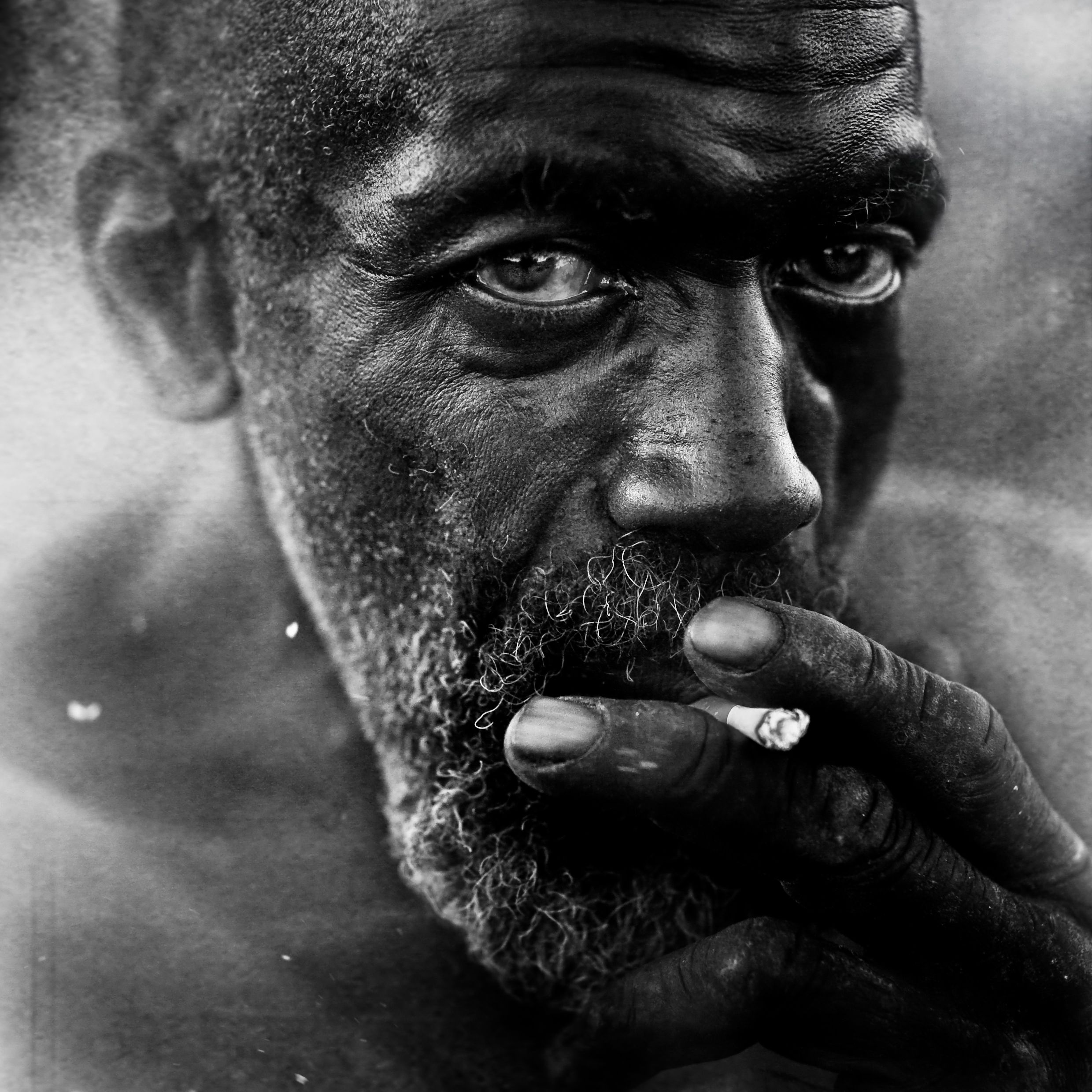 Homeless People Portraits Photography By Lee Jeffries: Black And White Portraits, Lee