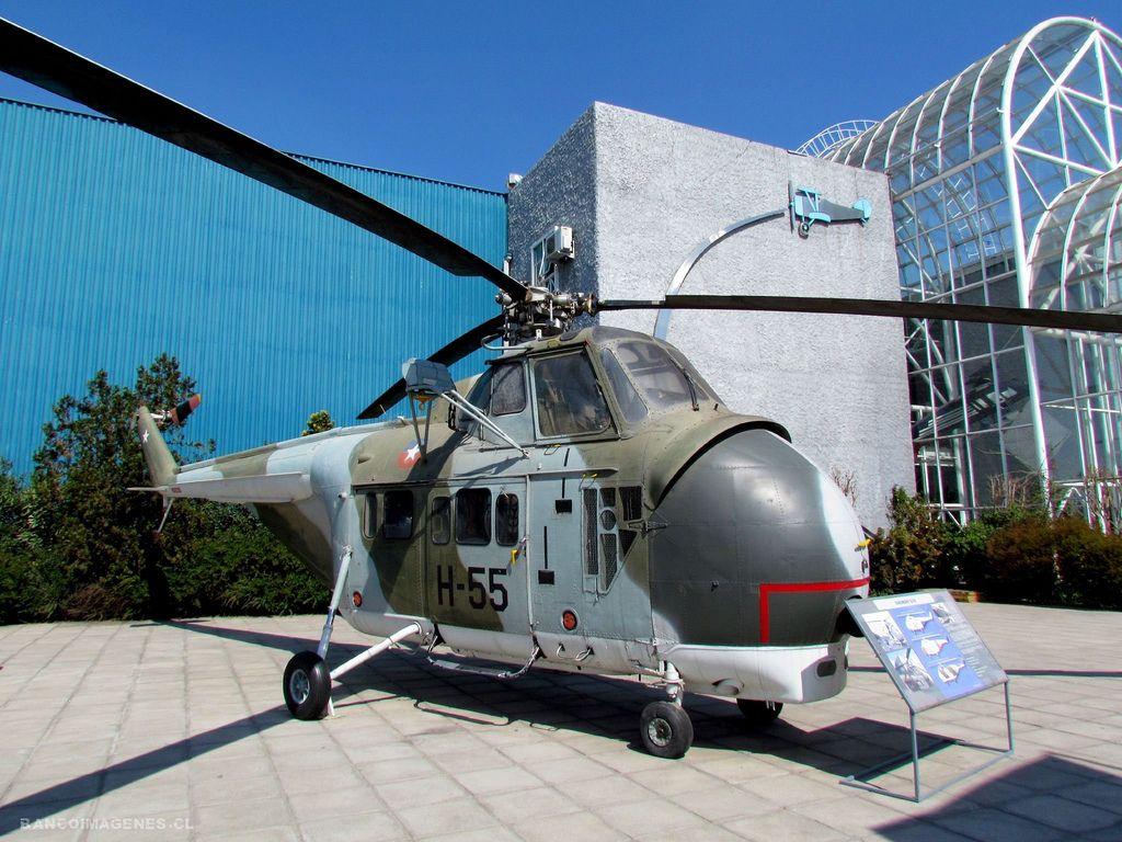 Fuerza Aérea Chilena Sikorsky S-55T.   helicópteros de Chile ...