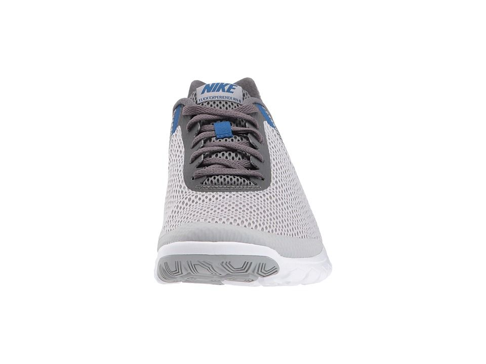 588659148524b Nike Flex Experience RN 6 Men s Running Shoes Wolf Grey Gym Blue Dark  Grey White