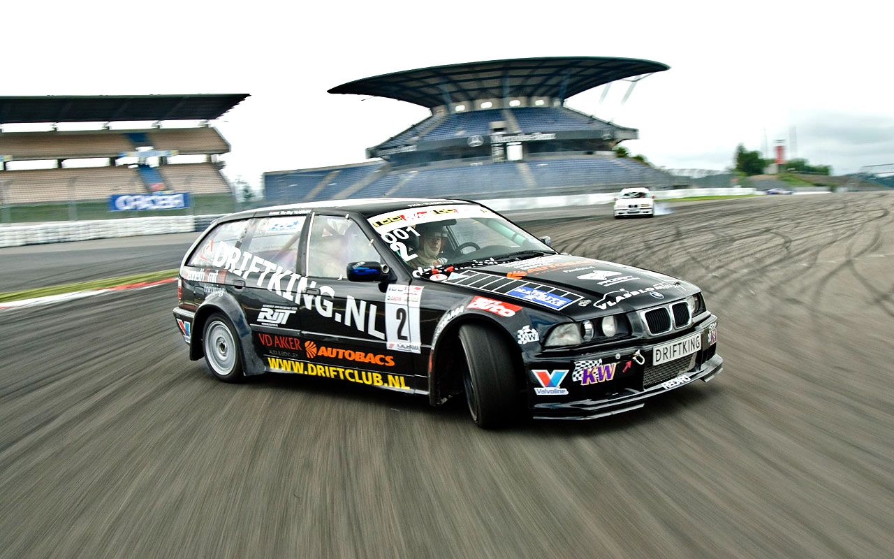 bmw 3 series touring drift car [ 1280 x 800 Pixel ]