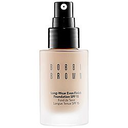 Bobbi Brown - Long-Wear Even Finish Foundation SPF 15 -warm ivory, sand, warm sand, beige, cool beige, warm beige, natural, natural tan, warm natural,