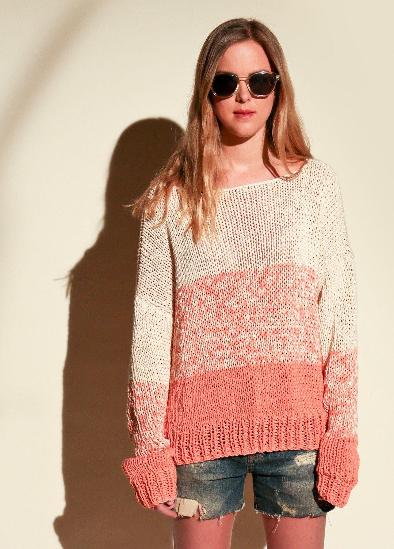 Acadia Sweater | Stricken, Pulli und Stricken häkeln