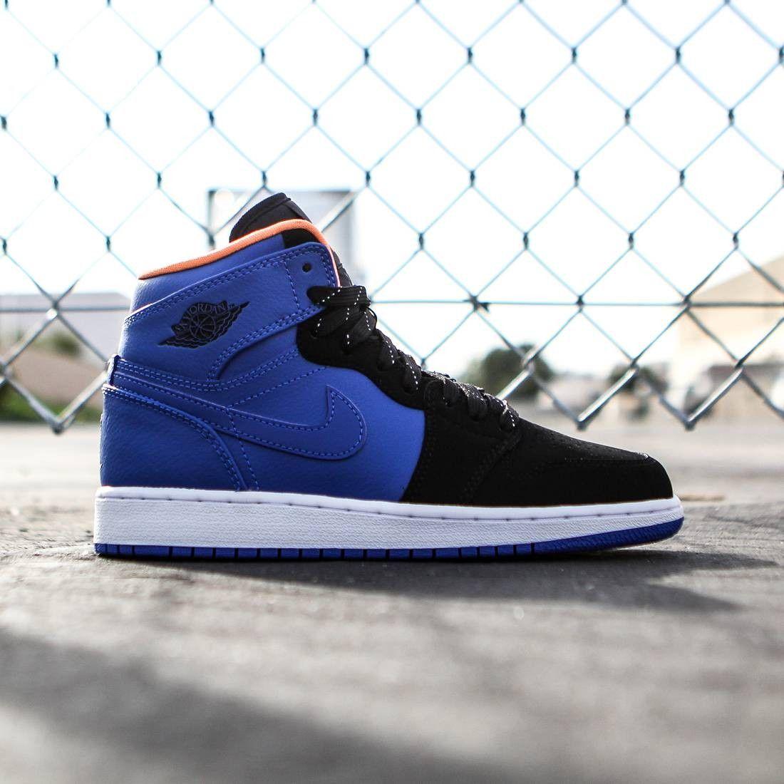 blue and black retro 1
