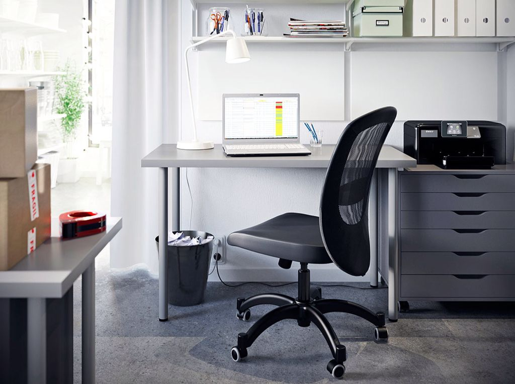 IKEA office | Best ergonomic office chair, Creative office ...