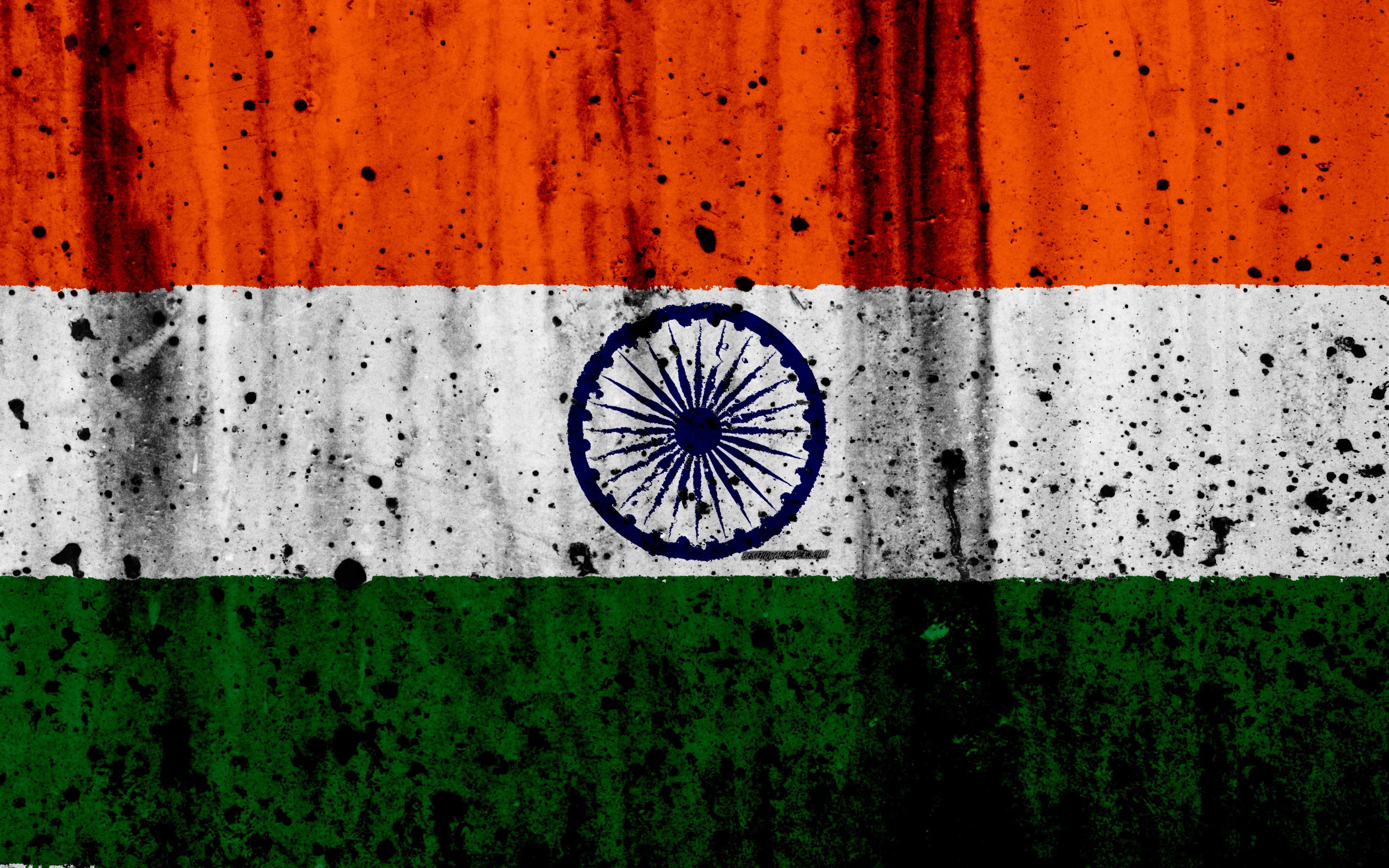 Indian Flag 4k Grunge Flag Of India Asia India National Symbols India National Flag Indian Flag Wallpaper Indian Flag India Flag