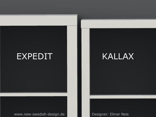 Bücherregal expedit  IKEA-Kultregal EXPEDIT soll durch KALLAX Regal ersetzt werden