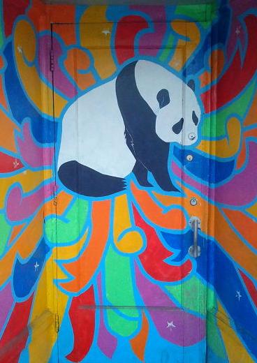 Panda door, Chinatown, Ottowa