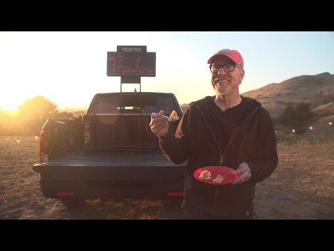 Features Not Standard: Adam Savage's Portable Movie Theater - YouTube