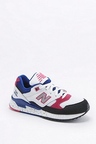 new balance 530 pink and white trainers