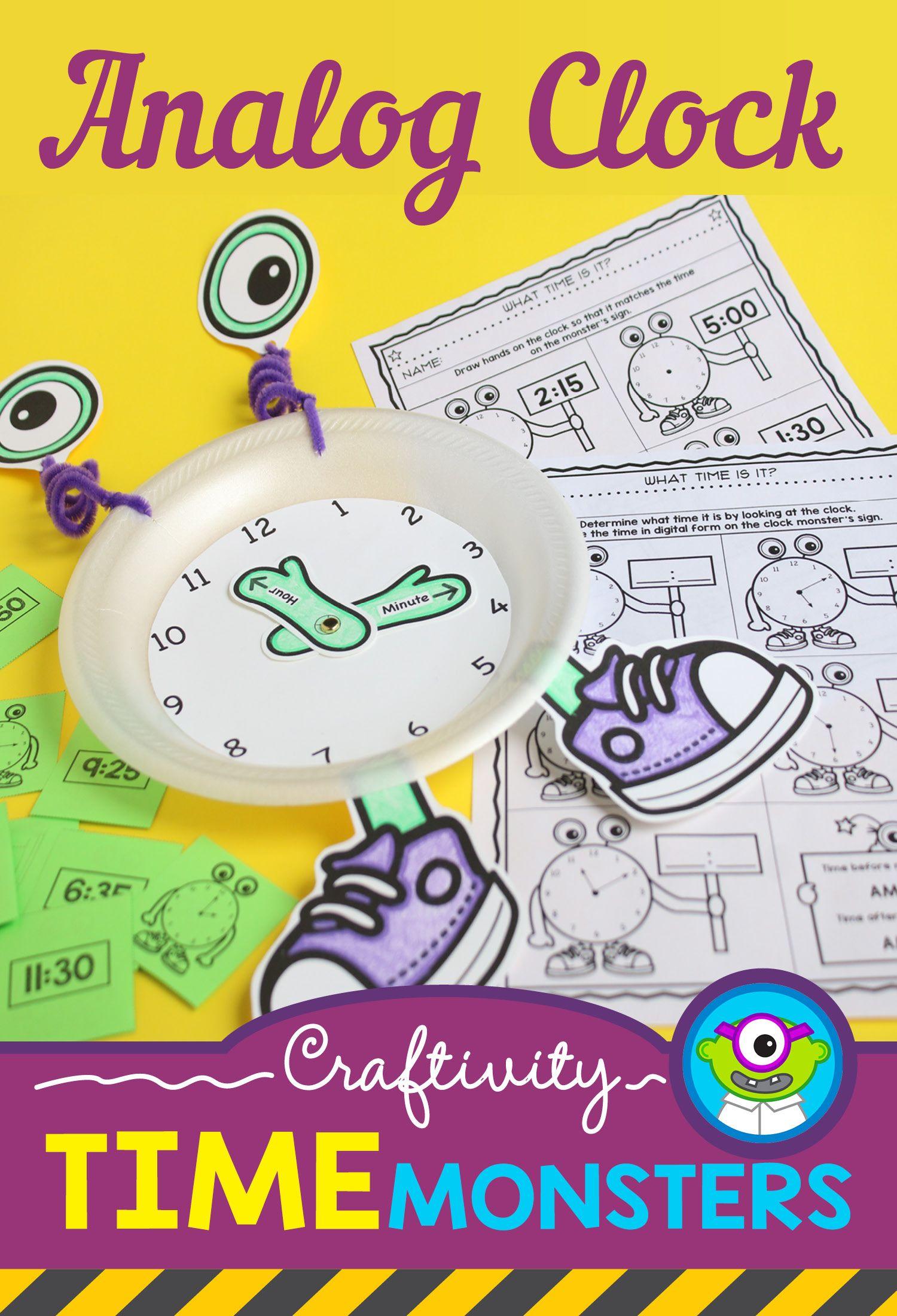Telling Time Craftivity