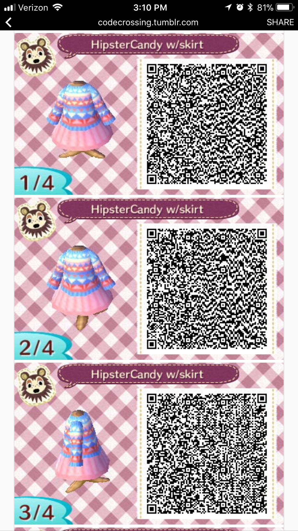 Female Hairstyles Acnl