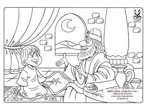samuel bible coloring pages sketch template. hannah and