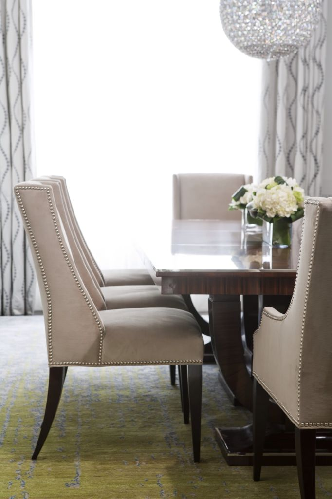 Gorgeous dining room setting