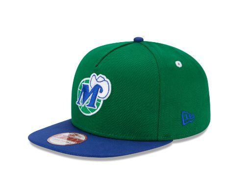 buy popular 9df8a d5868 NBA Dallas Mavericks 9Fifty Turnover Snapback 2 Tone Cap, Hardwood Classic,  Green Blue - Price   10.50