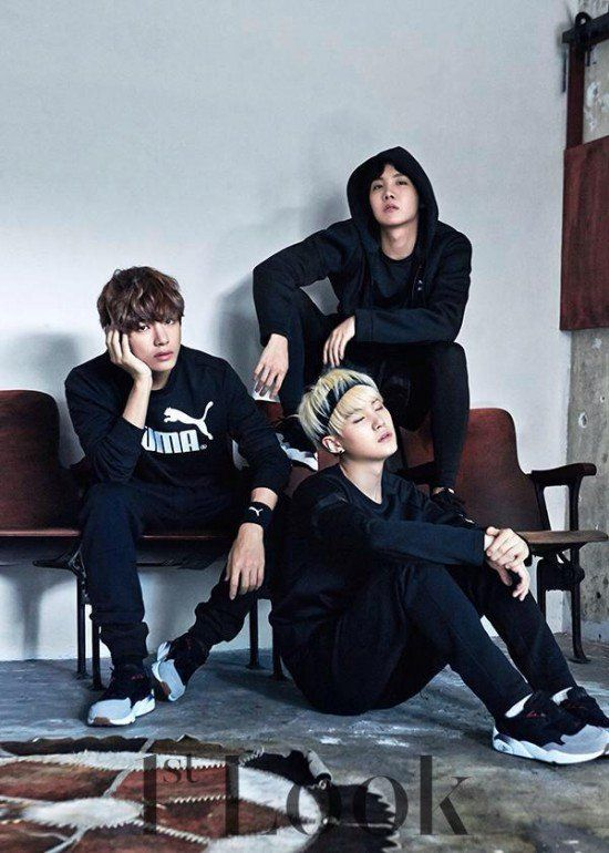 Bts Lounge About Casually In Puma Wear For 1st Look Manga And