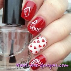 Valentine nail art designs easy valentine nail art tutorials only valentine nail art designs easy valentine nail art tutorials only on http nail prinsesfo Image collections