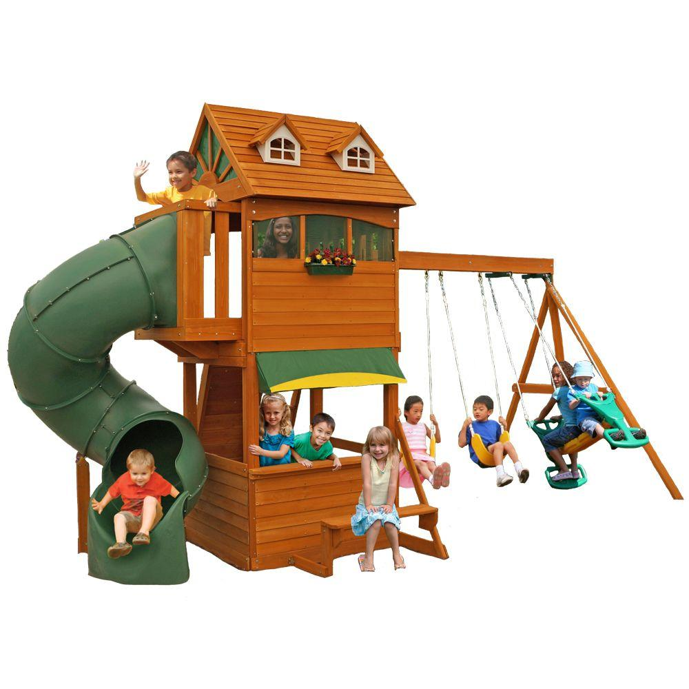 1232 00 Cedar Summit Forest Hill Retreat Playset F23180 The Home