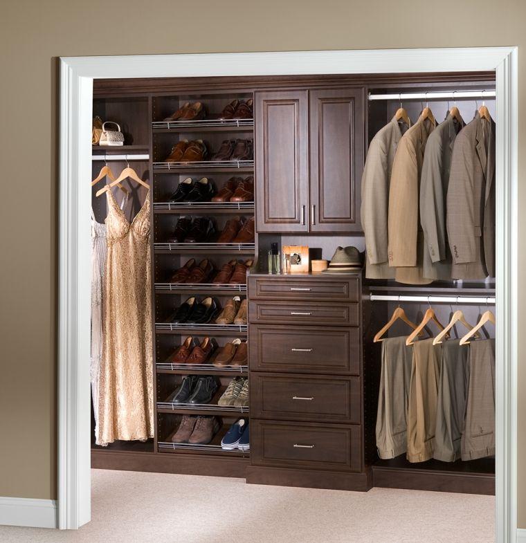 interiores de armarios organizados - Interiores De Armarios
