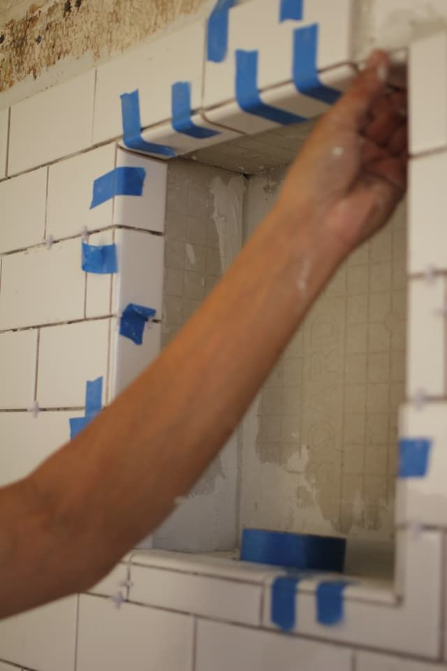 The 25 Best Built In Shower Shelf Ideas On Pinterest