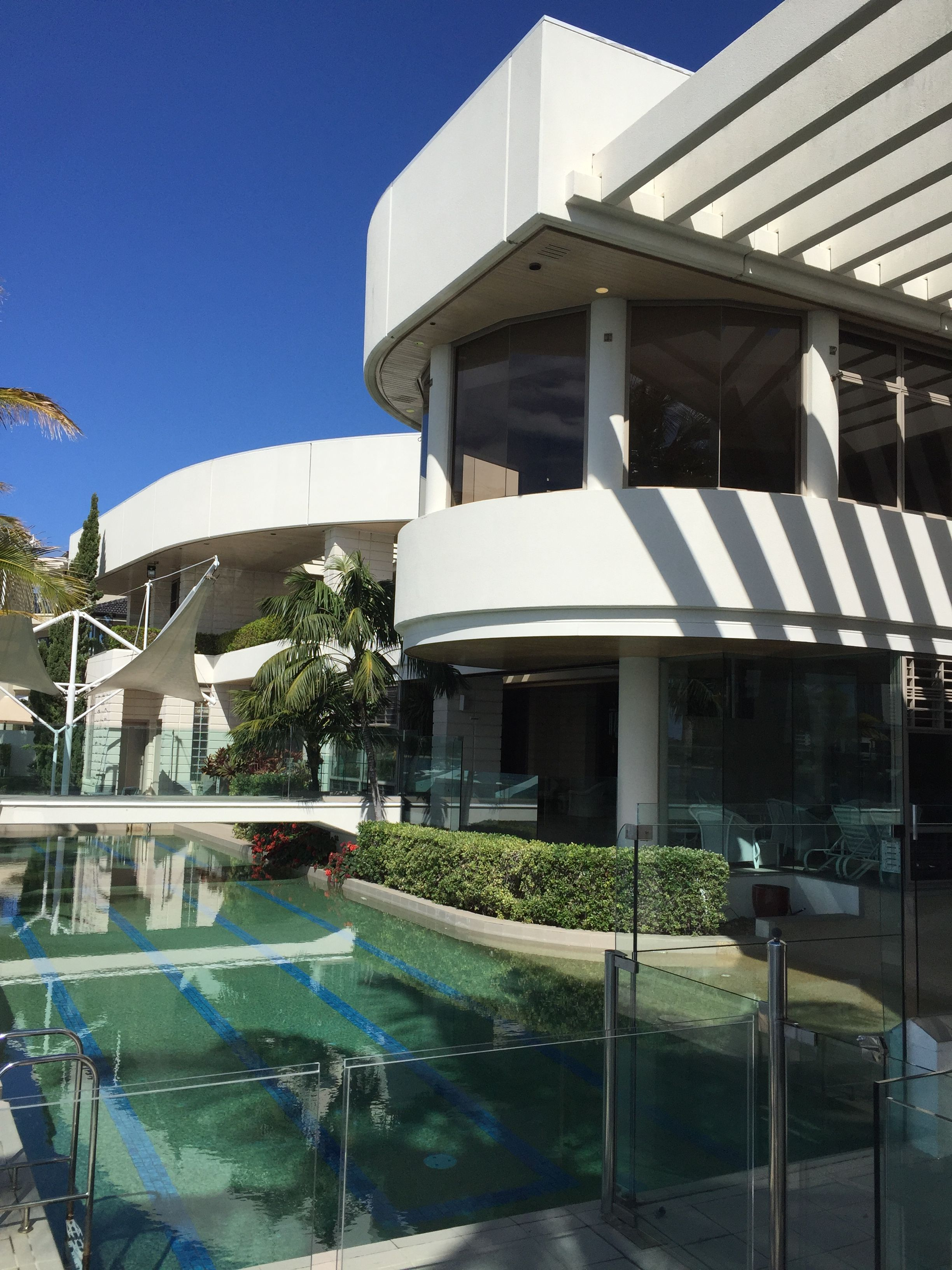 External House Wash Of The Crocodile Dundee Mansion On The Gold Coast By Waterworx Pressure